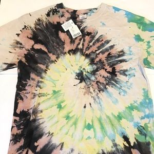 Tie Dye T-Shirt Urban Outfitters Small Festival